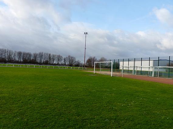 Stadion des SG Bad Nenndorf-Riehe